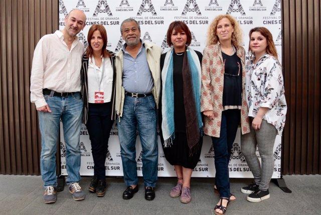 Anuncio de los premiados en el Festival Internacional Cines del Sur