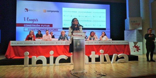 Mónica Oltra interviene en el Congreso de Iniciativa