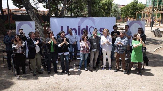 Candidatura 'Unidas rumbo 2019' para las elecciones municipales