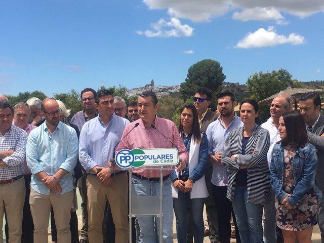 Antonio Sanz preside el comité de campaña del PP
