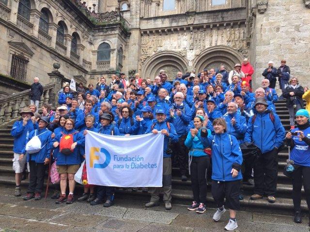 Participantes del Reto Camina por la Diabetes