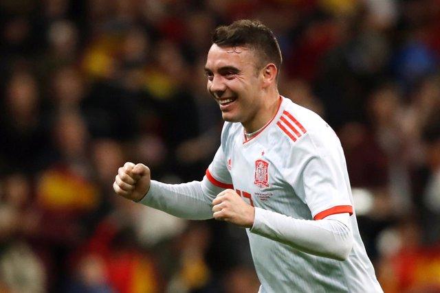 Soccer Football - International Friendly - Spain vs Argentina - Wanda Metropolit