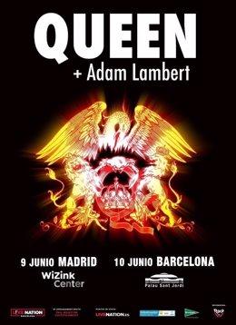 Queen + Adam Lambert llegan al Palau Sant Jordi este domingo