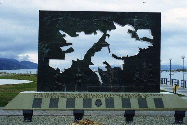 placa Malvinas