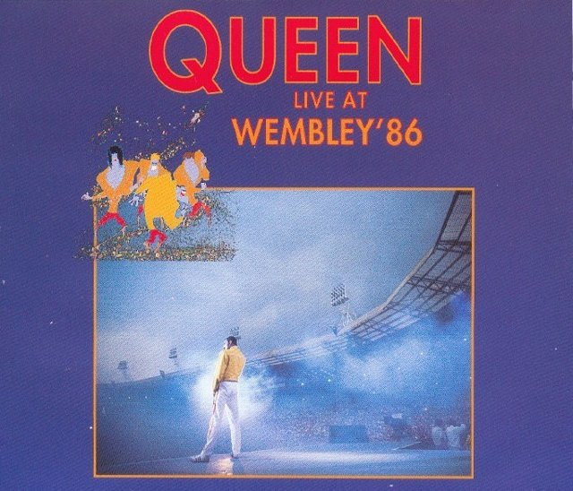 QUEEN WEMBLEY 86