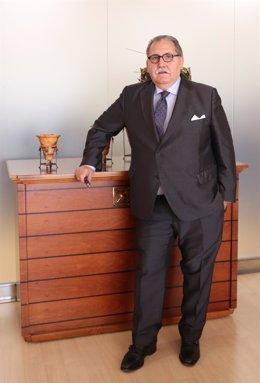 El presidente de Feria Zaragoza, Manuel Teruel.