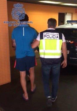 Fugitivo británico detenido en Alicante