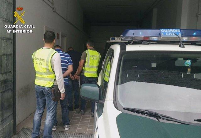 Detención de una familia en Crevillent (Alicante)