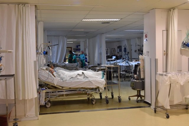 Área de REanimación del Hospital Reina Sofía