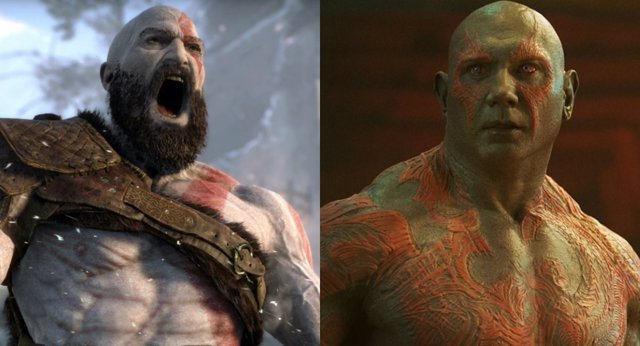 Dave Batista como Kratos