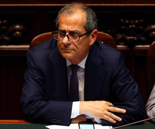 El ministro de Economía de Italia, Giovanni Tria