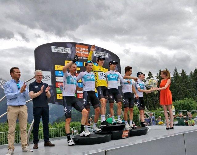 Geraint Thomas Criterium del Dauphiné
