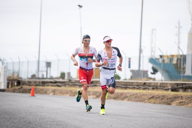 Javier Gómez Noya Braden Currie Ironman Cairns