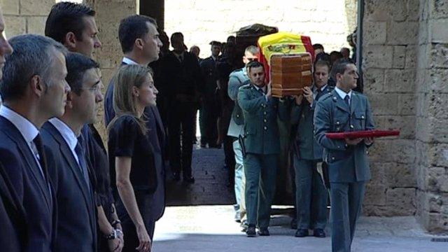 Cobertura de IB3 de los funerales tras el atentado
