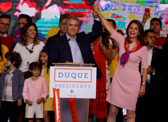 Iván Duque y Marta Lucía Ramírez