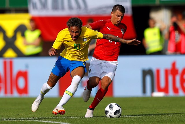 Soccer Football - International Friendly - Austria vs Brazil - Ernst-Happel-Stad