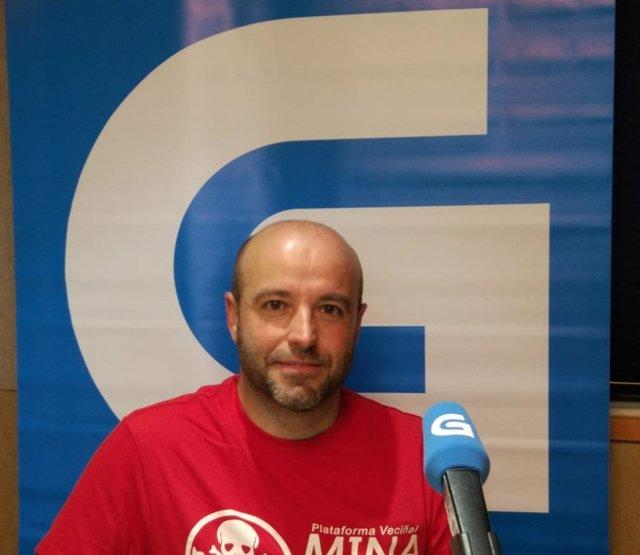 Luís Villares en la Radio Galega