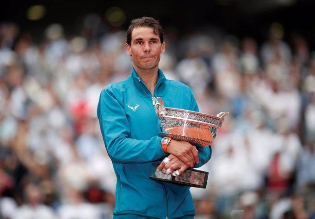 Tennis - French Open - Roland Garros, Paris, France - June 10, 2018   Spain's Ra
