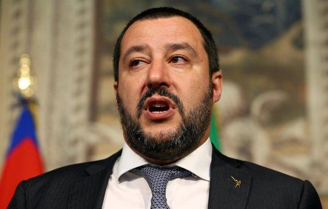 El líder de La Liga, Matteo Salvini