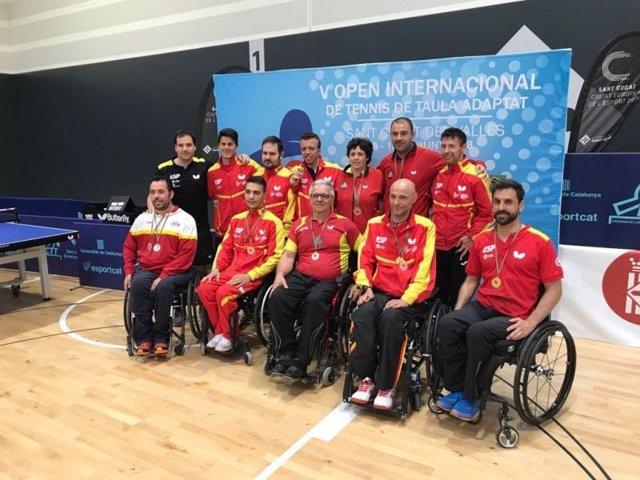 España amplia a trece medallas su palmarés en el PTT Spanish Open 2018