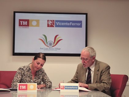 TM Grupo Inmobiliario colabora con la Fundación Vicente Ferrer para financiar la construcción de 64 viviendas en India