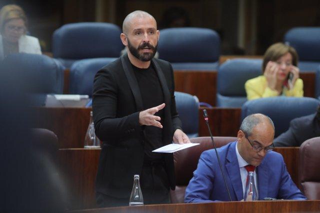 El consejero de la Comunidad de Madrid, Jaime de los Santos.