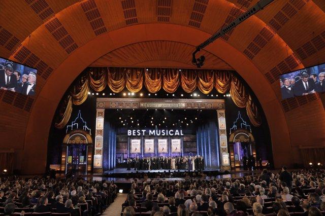72Nd Annual Tony Awards - Show - New York, U.S., 10/06/2018 - The Cast And Produ