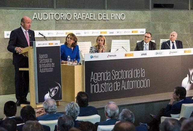 Presentació Agenda Sectorial de la Automoción