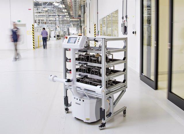 Nuevo robot autónomo de Skoda