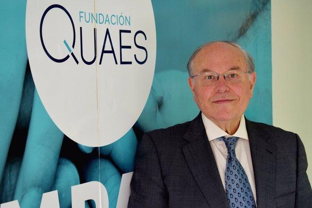 El doctor César Nombela, nuevo presidente de la Fundación Quaes