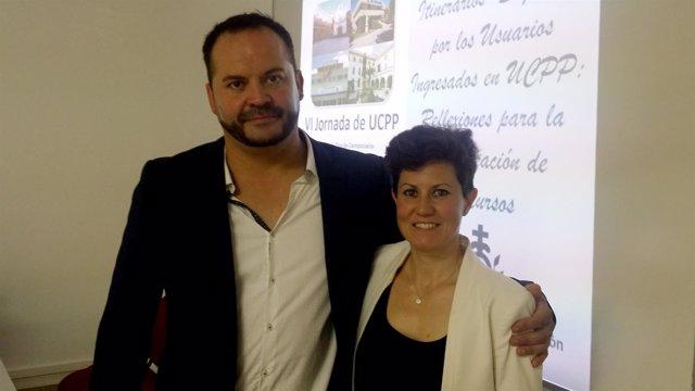 Los psicólogos clínicos Juan Jesús Muñoz y Marta López