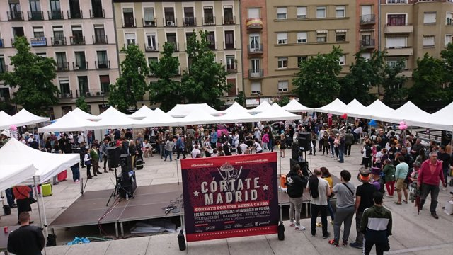 El evento 'Córtate Madrid'
