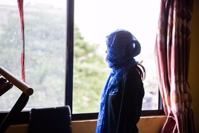 Sharmila, nepalí víctima de explotación y abusos