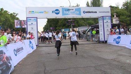3.500 personas participaron en la carrera 'Hay Salida contra la violencia de género' en Madrid