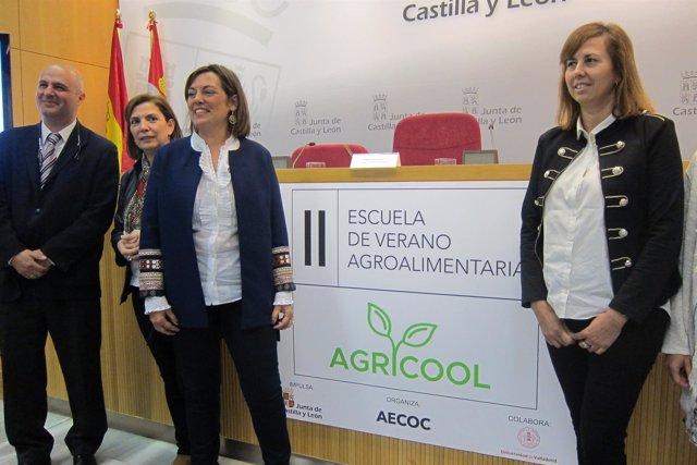 Presentación de Agricool y de la Summer Camp del Gran Consumo Valladolid 11/6/18