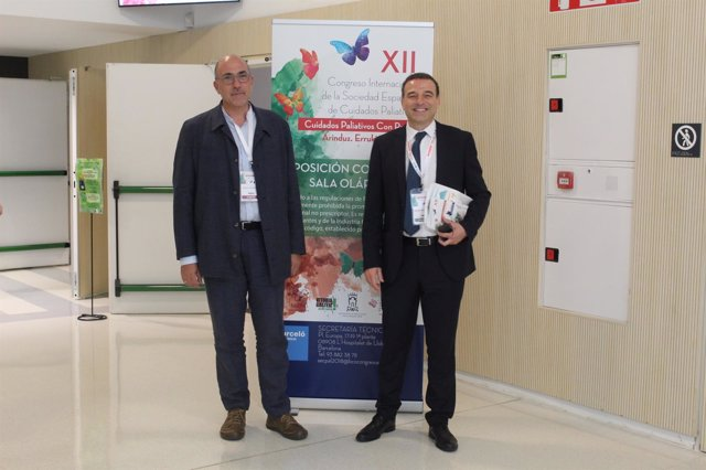 El doctor Rafael Mota y el doctor Alberto Meléndez