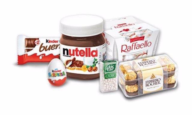 Grupo Ferrero (Nutella, Ferrero Rocher, Kinder)