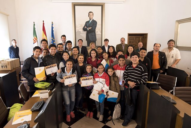[Grupoextremadura] Nota Homenaje Bolivia