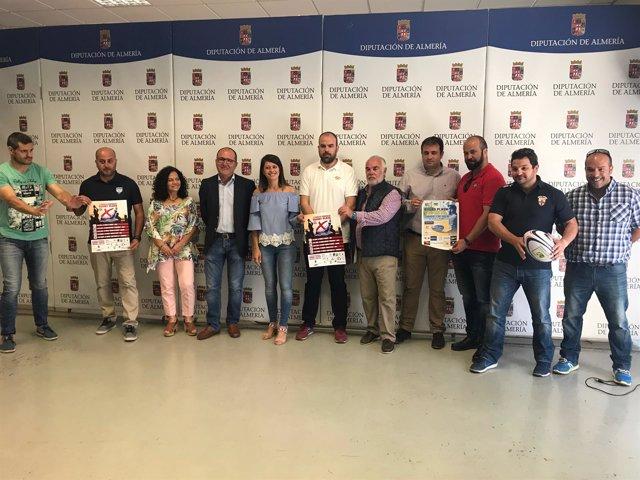 Diputación impulsa la segunda edición del Circuito Provincial de Rugby Playa.