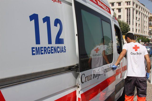 Ambulancia de la Cruz Roja