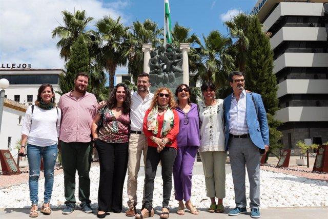 Rodríguez y Maíllo con organizaciones que han mostrado su apoyo a la confluencia