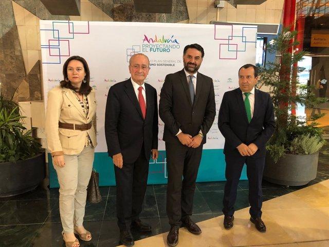 Foro plan general turismo sostenible Andalucía Martin rojo alcalde consejero del