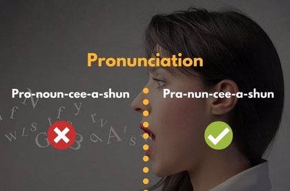 Pronunciation Mistakes: ¿Cómo se pronuncia -inserte aquí su palabra- en ingles?