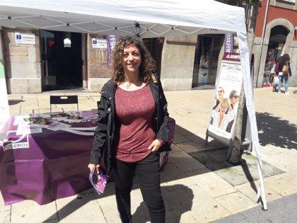 La eurodiputada Tania González se postula como la nueva secretaria general de Podemos Avilés