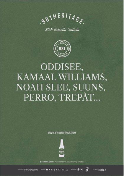 La XIV edición del 981Heritage SON Estrella Galicia anuncia sus primeros nombres