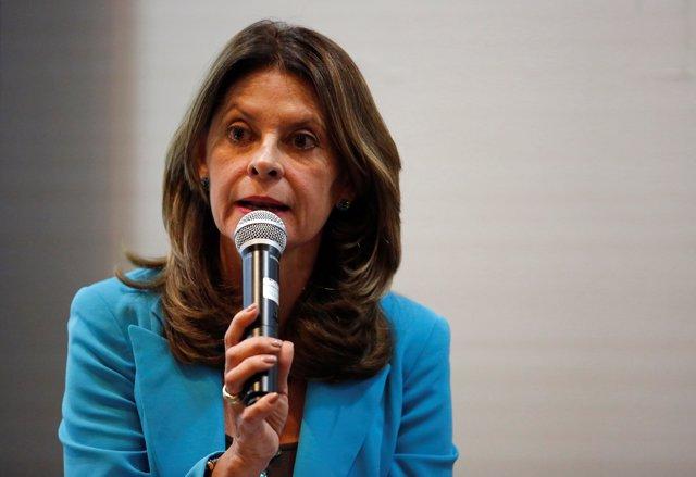 La política colombiana Marta Lucía Ramírez