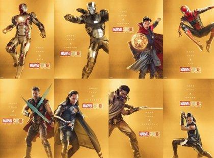 Marvel Studios celebra su 10º aniversario con 33 carteles de sus héroes