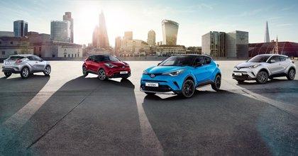 Toyota actualiza la gama del C-HR con nuevos colores y más equipamiento