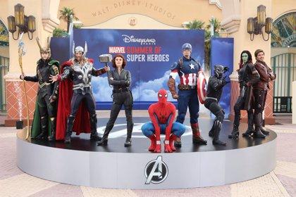 El Verano de los Superhéroes Marvel conquista Disneyland París