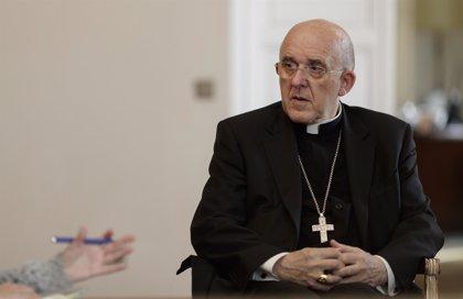 """El cardenal Osoro defiende la acogida de los 629 migrantes del Aquarius: """"Es una llamada de Cristo a Europa"""""""